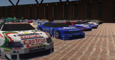 Auto Museum 64 is a virtual museum for cars from Nintendo 64 games