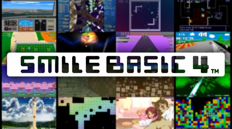 Create Your Own Games On Switch With SmileBASIC 4, Available Next Week