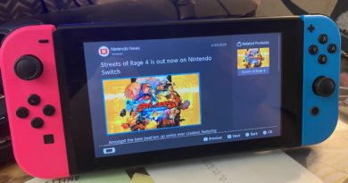Nintendo News channel on Switch accidentally says Streets of Rage 4 is now available