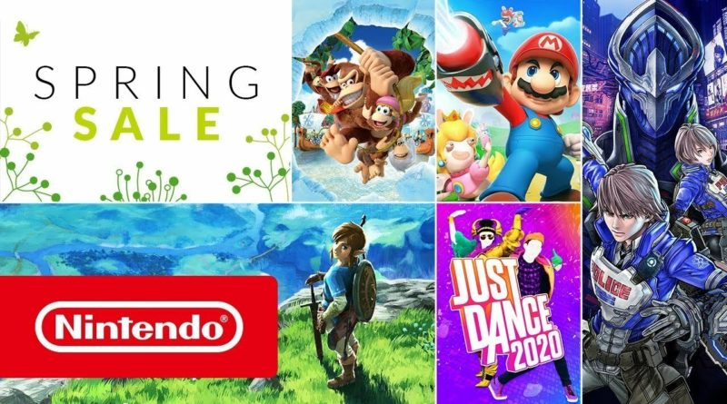 Reminder: Nintendo's Huge Spring Sale Ends This Weekend, Lots Of Top Switch Games Discounted (Europe)