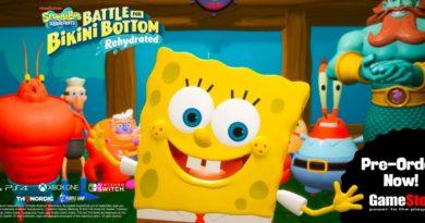 SpongeBob SquarePants: Battle for Bikini Bottom – Rehydrated coming 23rdJune | My Nintendo News | Nintendo News