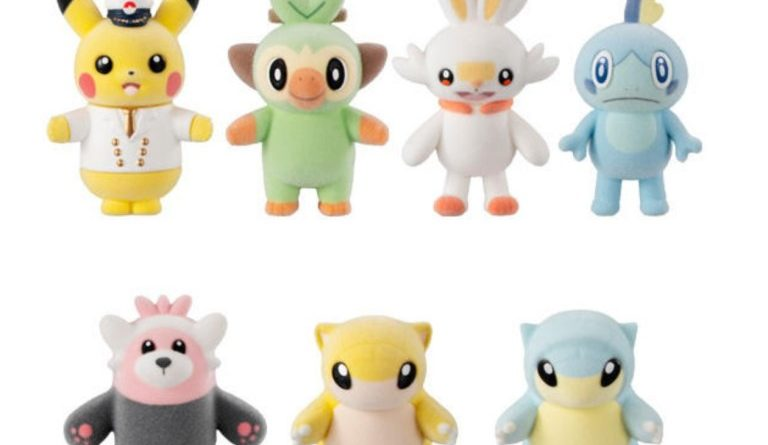 Bandai releases another wave of Pokemon mini furry mascot dolls