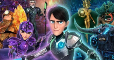 Check out the European cover for Trollhunters:Defenders of Arcadia