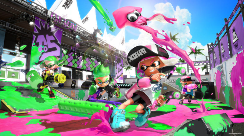 Don't forget the Splatfest takes place this weekend