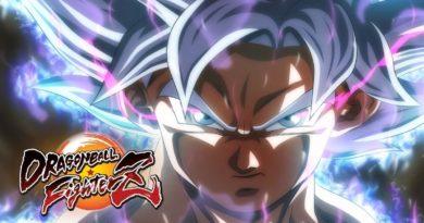 Dragon Ball FighterZ Goku Ultra Instinct launch trailer