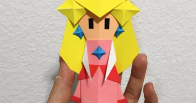 Fan wastes no time recreating Origami Peach from Paper Mario: The Origami King