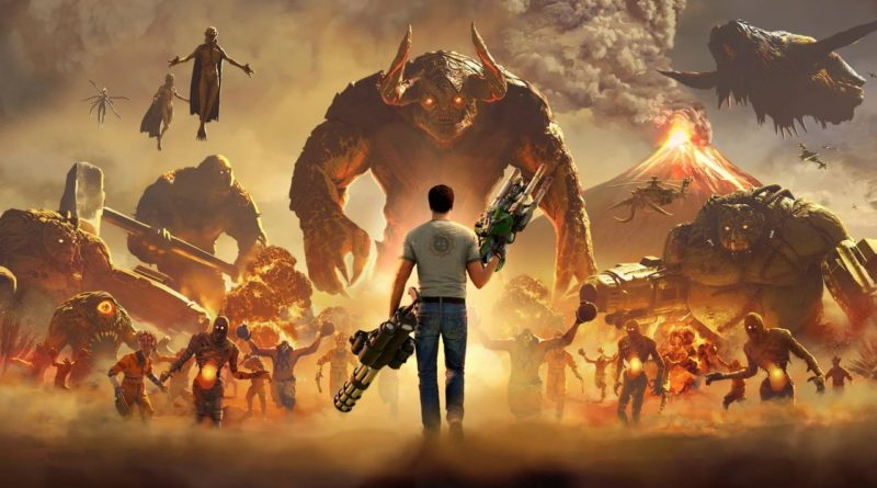 Google Stadia Exclusivity Delays Serious Sam 4 on PS4 Until 2021