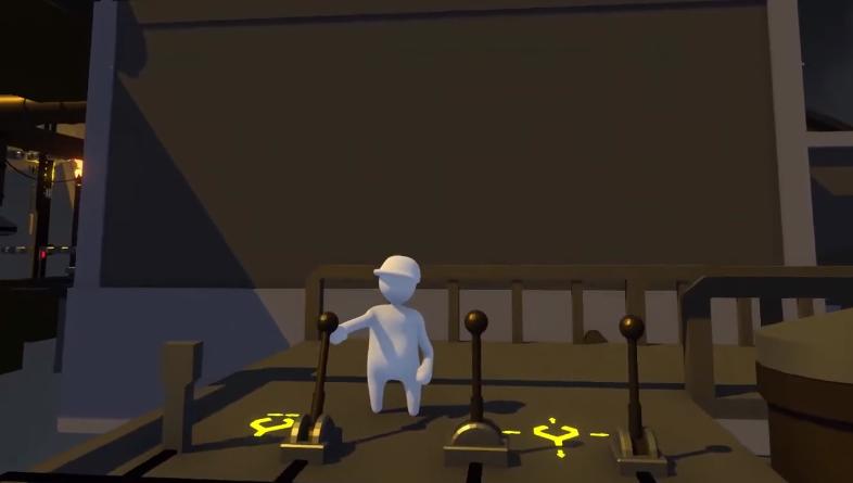 "Human: Fall Flat ""Factory"" level trailer"