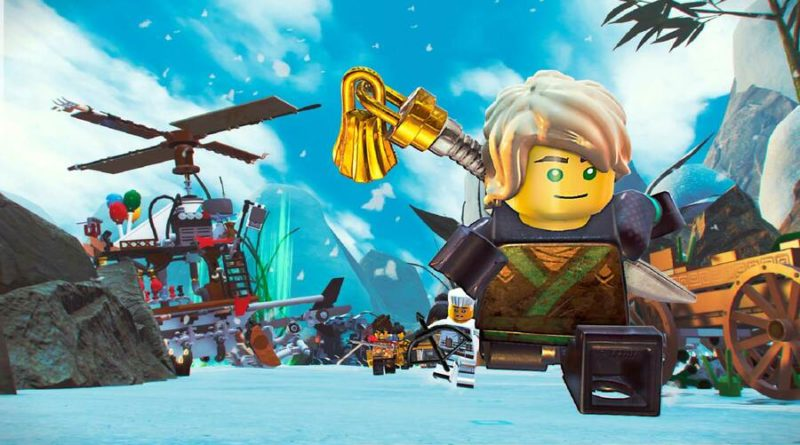 LEGO Ninjago Movie Video Game PS4 PlayStation 4