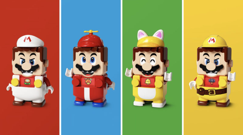 LEGO Super Mario Power-Up Packs Announced - NintendoFuse