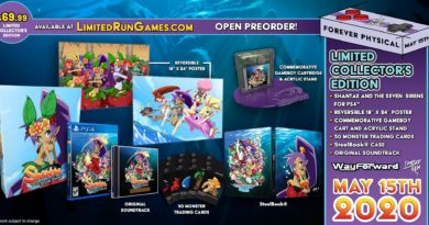 Limited Run Games - Shantae and the Seven Sirens physical editions available for pre-order