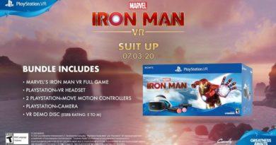 Marvel's Iron Man VR PS4 PlayStation 4 VR PSVR 2