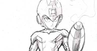 One-Punch Man artist shares a Mega Man tribute