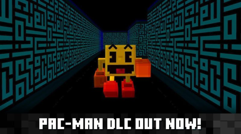 Pac-Man DLC available for Minecraft today