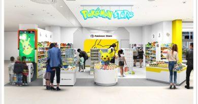 Pokemon Store Ryubo reopens