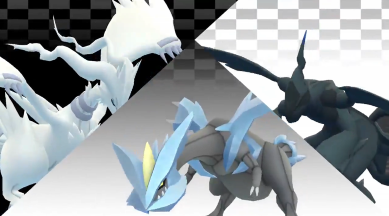 Reshiram, Zekrom & Kyurem are coming soon to Pokemon GO 5-Star Raids