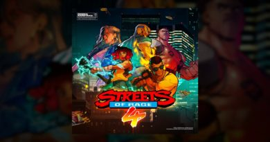 Streets of Rage 4 soundtrack now available to purchase digitally/stream