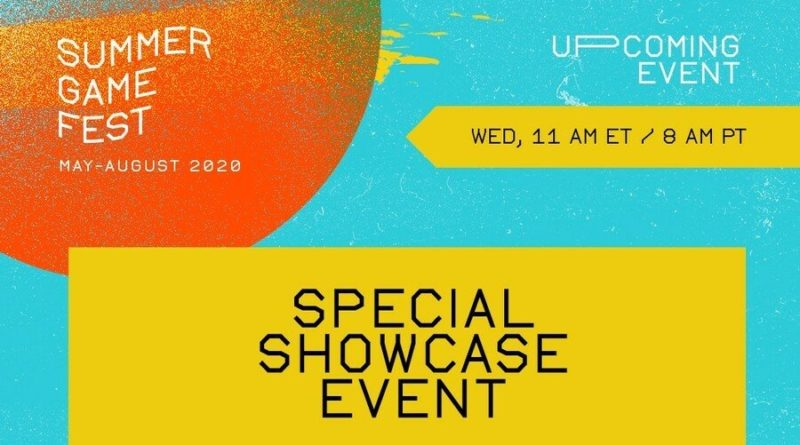 Summer Game Fest Special Showcase Event