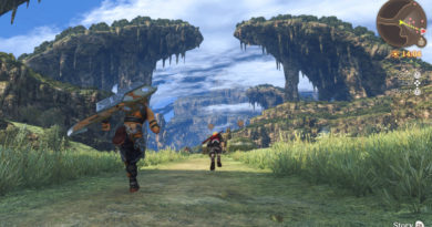 Xenoblade Chronicles: Definitive Edition footage compilation