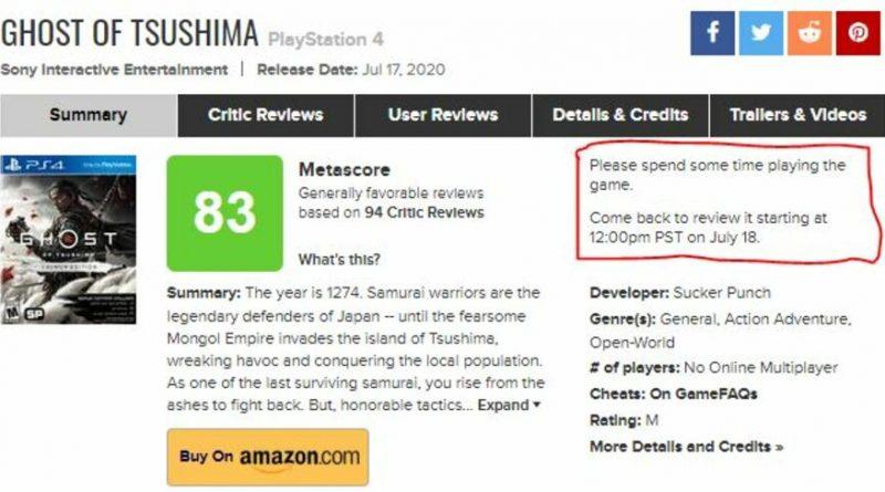 Ghost of Tsushima PS4 PlayStation 4 1