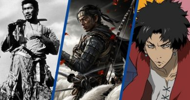 Ghost of Tsushima Samurai Games Movies Anime