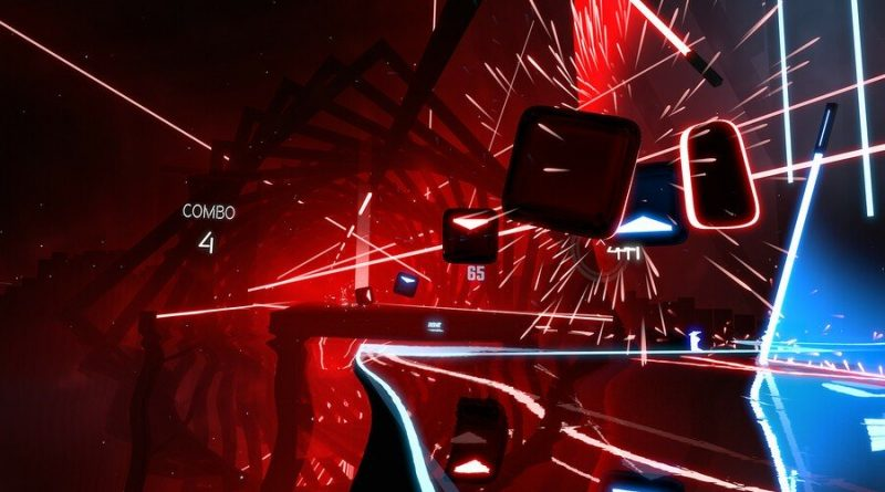 Beat Saber PS4 PlayStation 4 VR PSVR 1