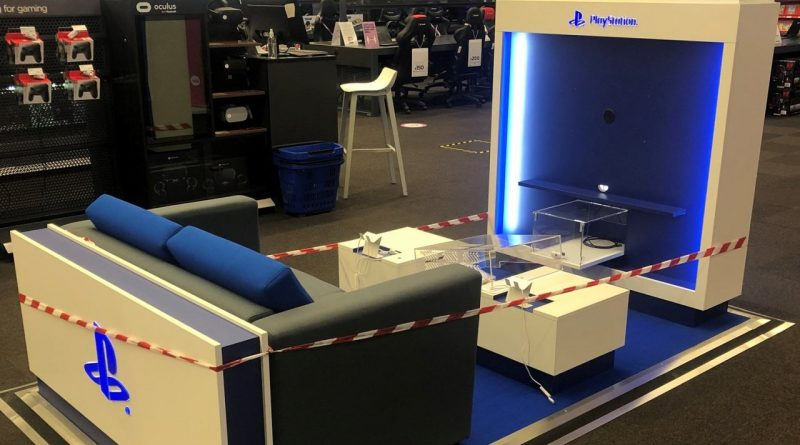 Sony Says PlayStation Kiosks Snapped in Stores Are Not PS5 Related